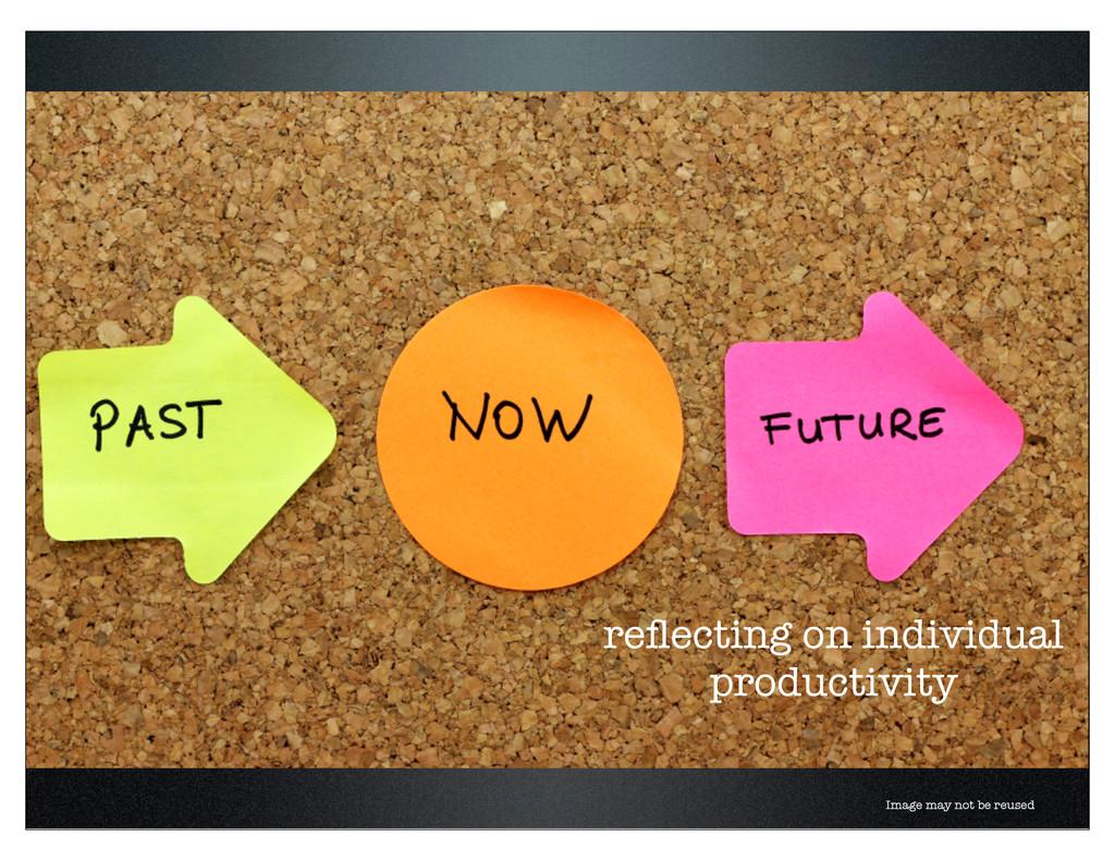 reflecting on individual productivity Image may ...