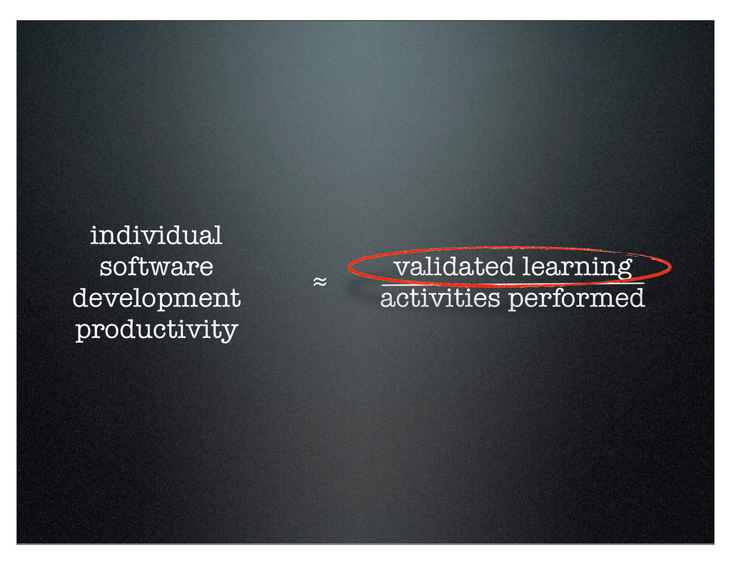 validated learning activities performed individ...