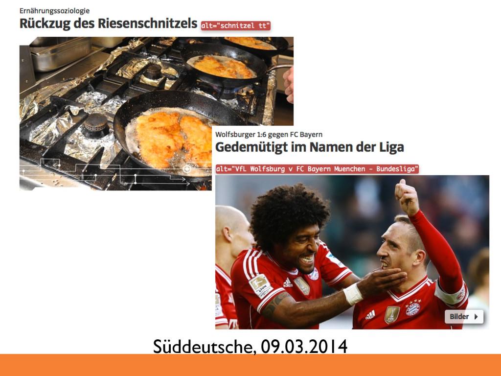 Süddeutsche, 09.03.2014