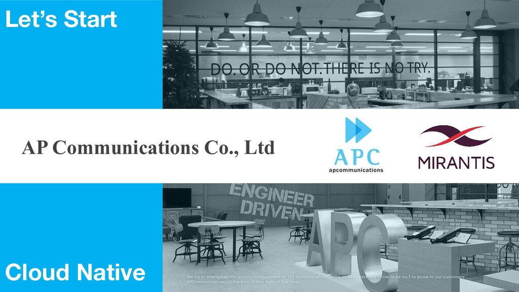 AP Communications Co., Ltd Let's Start Cloud Na...
