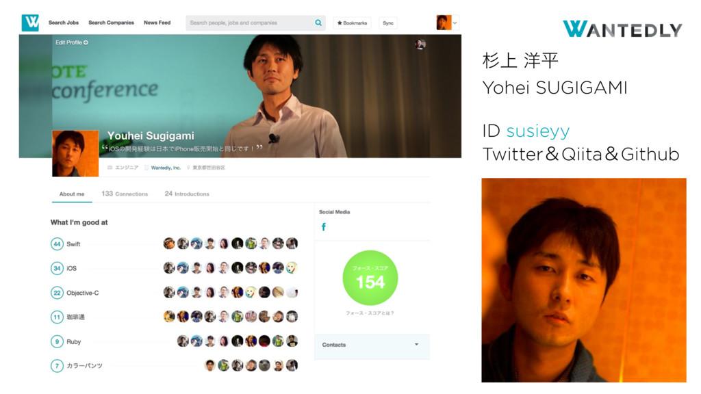 γΰτͰίίϩΦυϧ ਿ্ ༸ฏ Yohei SUGIGAMI ID susieyy Twit...
