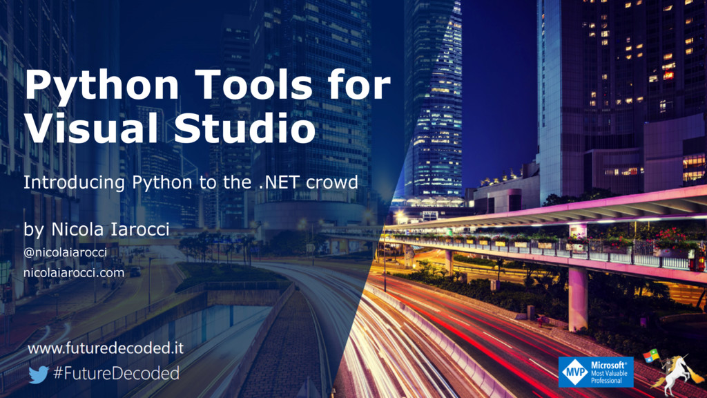 Python Tools for Visual Studio Introducing Pyth...