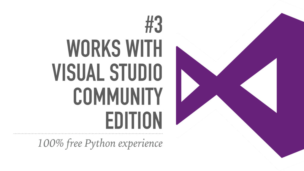 #3 WORKS WITH VISUAL STUDIO COMMUNITY EDITION 1...