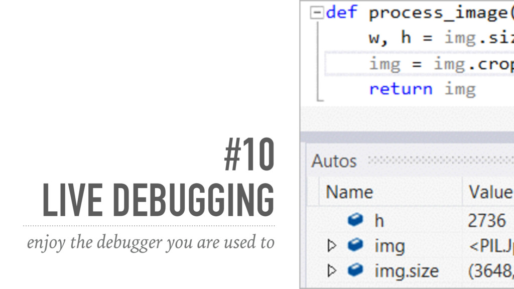 #10 LIVE DEBUGGING enjoy the debugger you are u...
