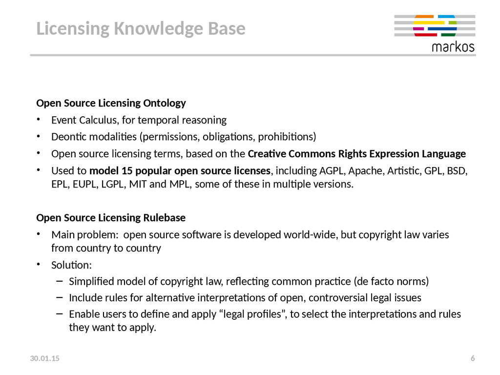 Licensing Knowledge Base Open Source Licensing ...