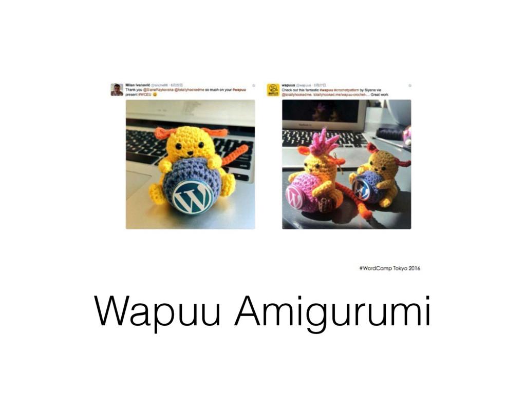 Wapuu Amigurumi