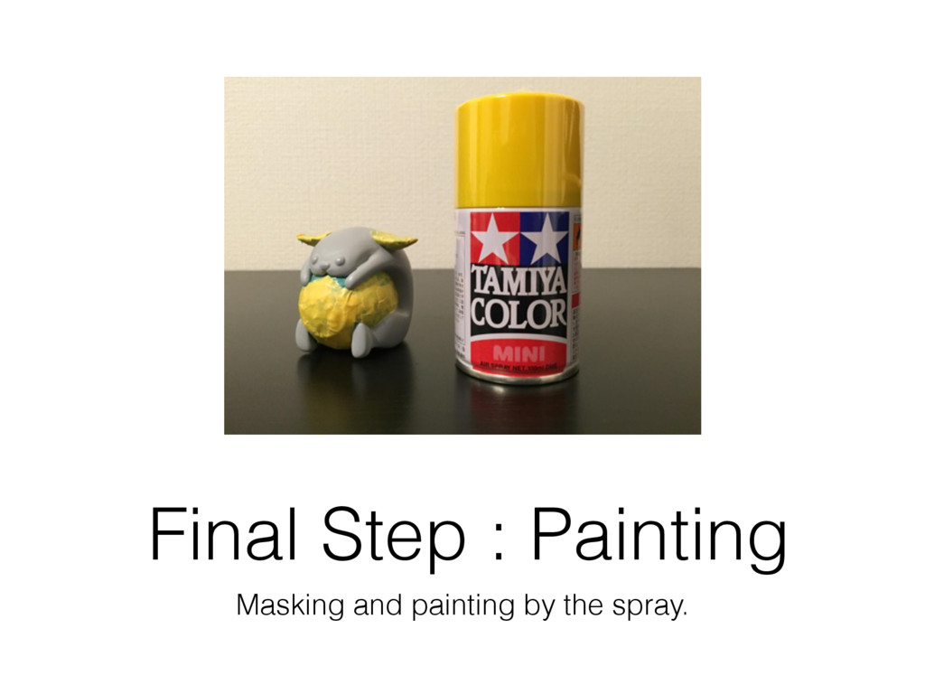 Final Step : Painting Masking and painting by t...