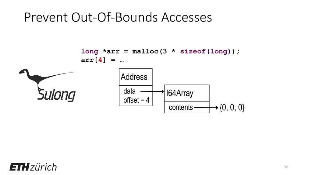 Prevent Out-Of-Bounds Accesses 58 long *arr = m...
