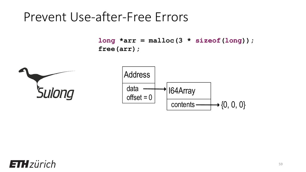 Prevent Use-after-Free Errors 59 long *arr = ma...