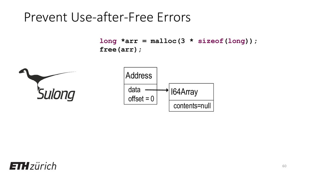 Prevent Use-after-Free Errors 60 long *arr = ma...
