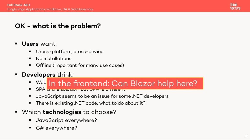 3 § Users want: § Cross-platform, cross-device ...