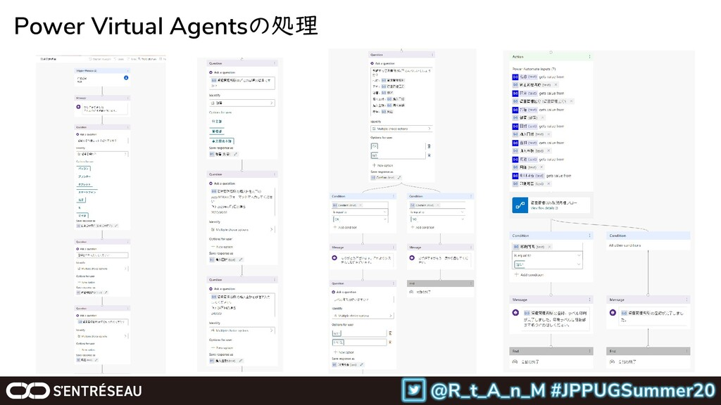 Power Virtual Agentsの処理