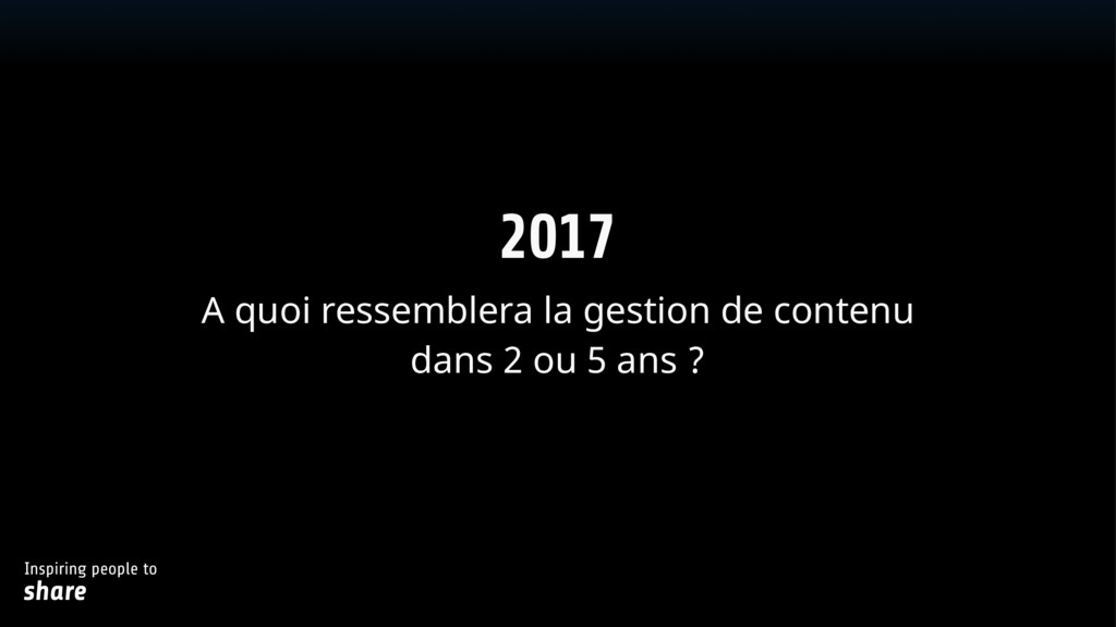Inspiring people to share Text 2017 A quoi re...