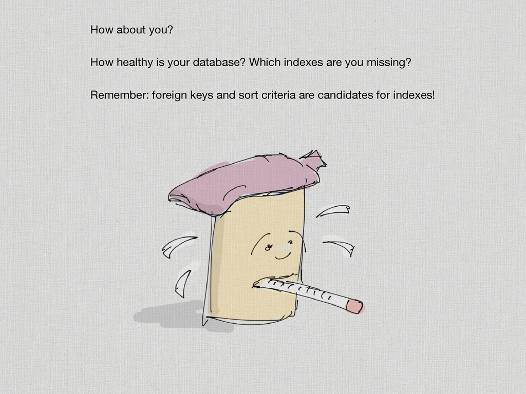 How about you?  How healthy is your database? W...