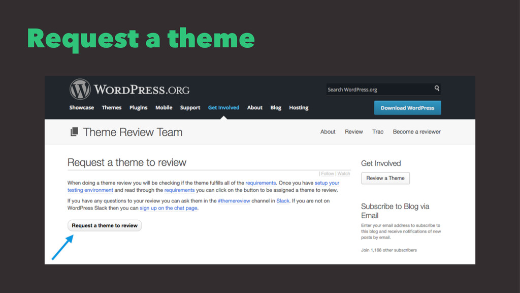 Request a theme