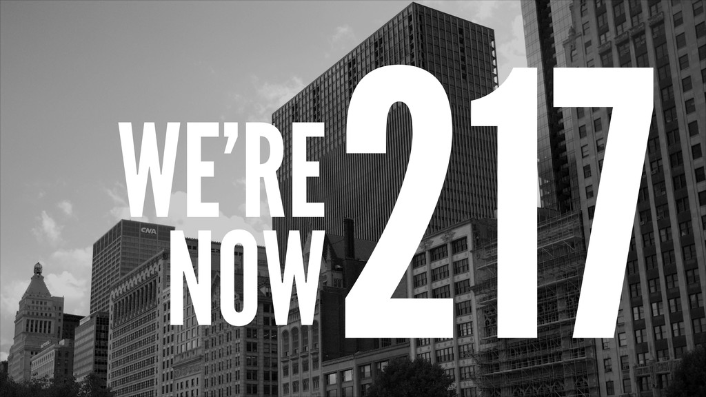 WE'RE NOW 217