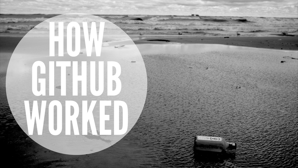 HOW GITHUB WORKED
