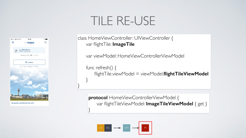 TILE RE-USE class HomeViewController: UIViewCon...