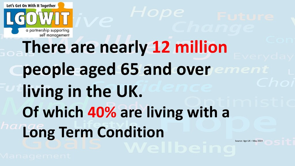 There are nearly 12 million people aged 65 and ...