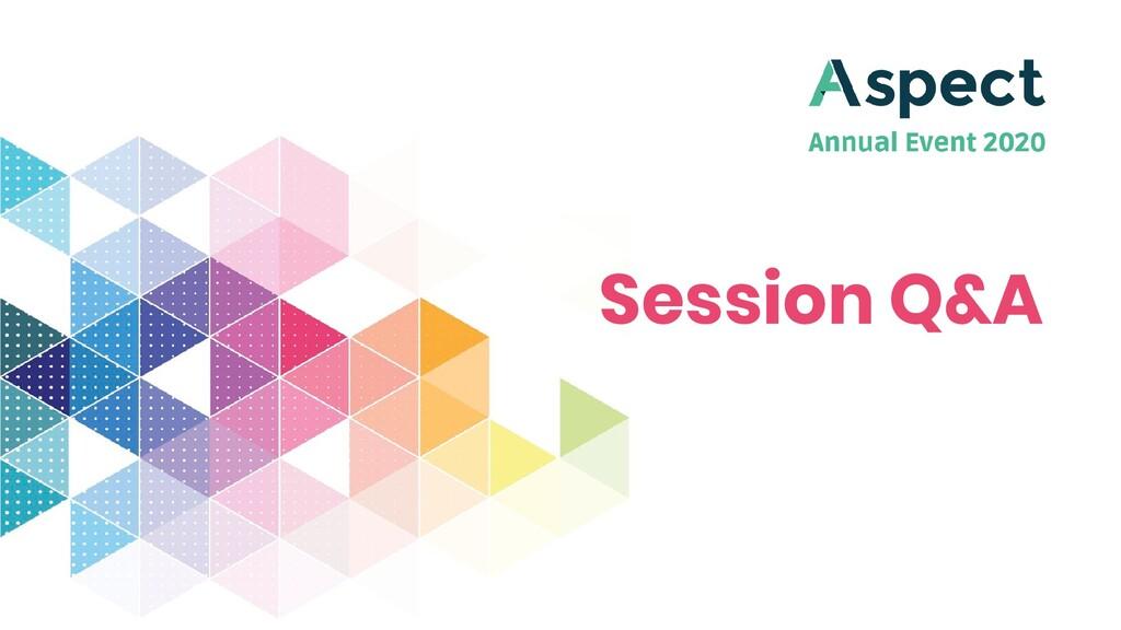 Session Q&A