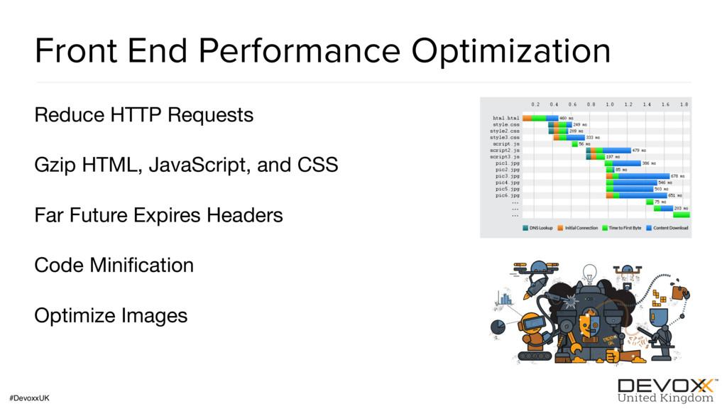 #DevoxxUK Front End Performance Optimization Re...