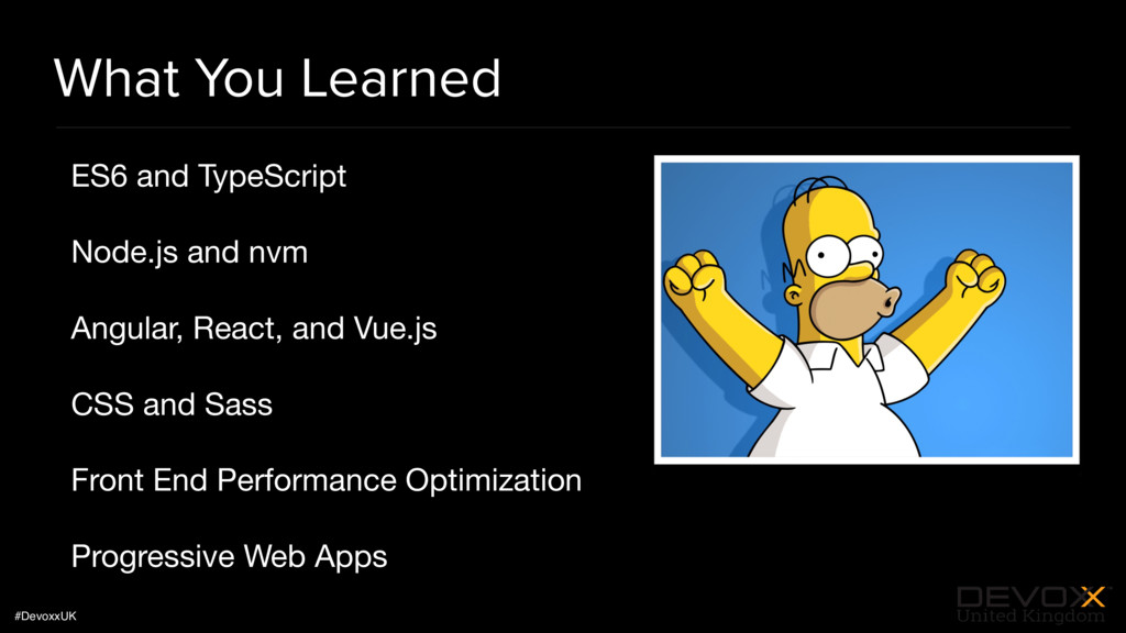 #DevoxxUK What You Learned ES6 and TypeScript  ...
