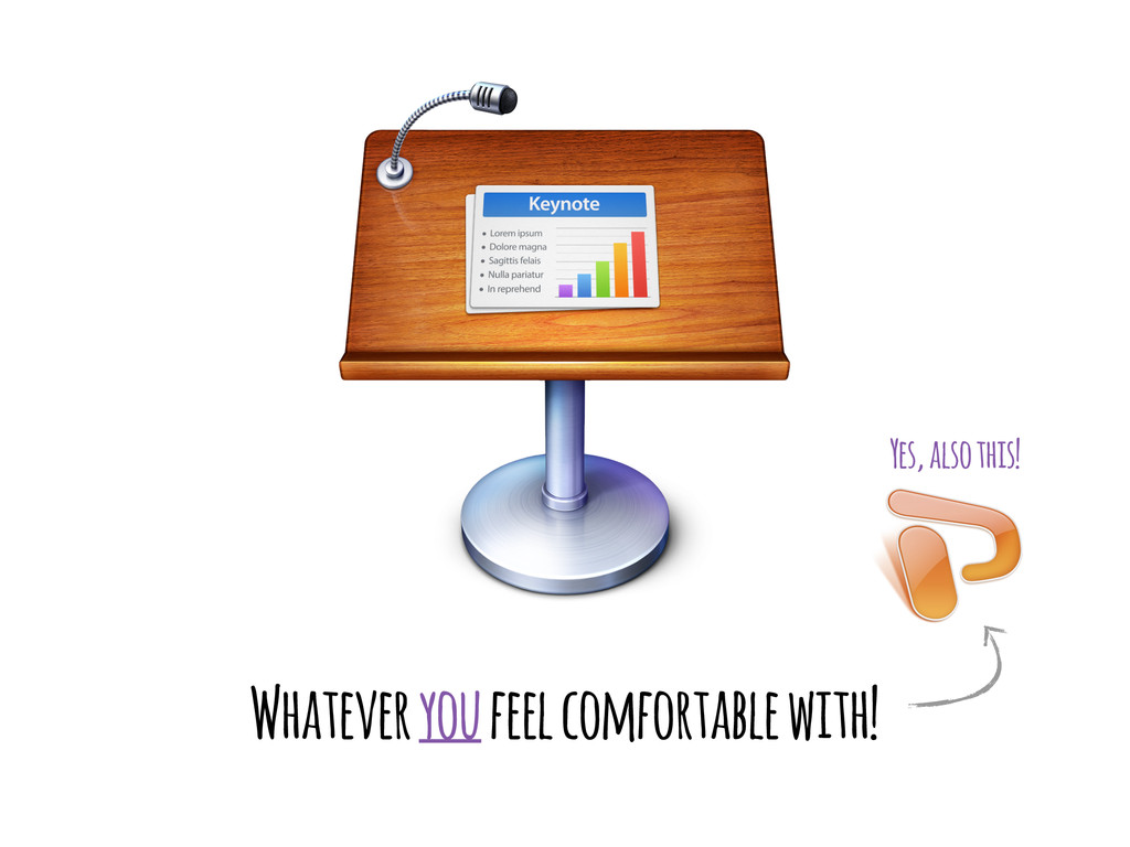Whatever you feel comfortable with! Yes, also t...