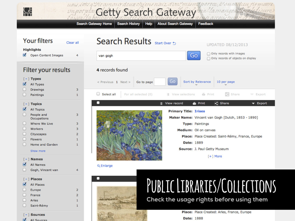 Public Libraries/Collections Check the usage ri...