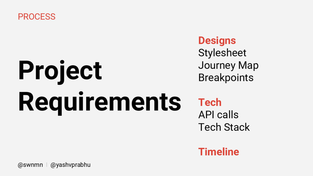 Project Requirements PROCESS Designs Stylesheet...