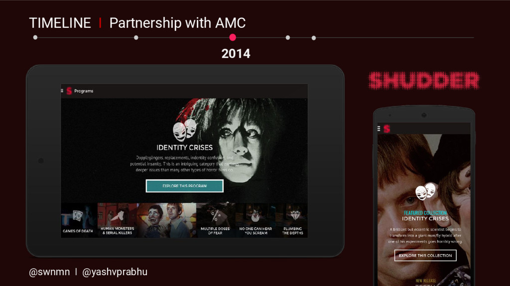 2014 TIMELINE I Partnership with AMC @swnmn I @...