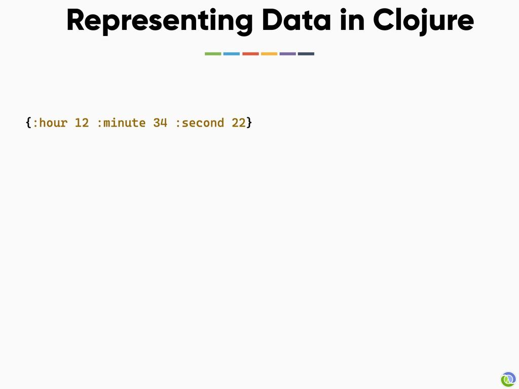 Representing Data in Clojure