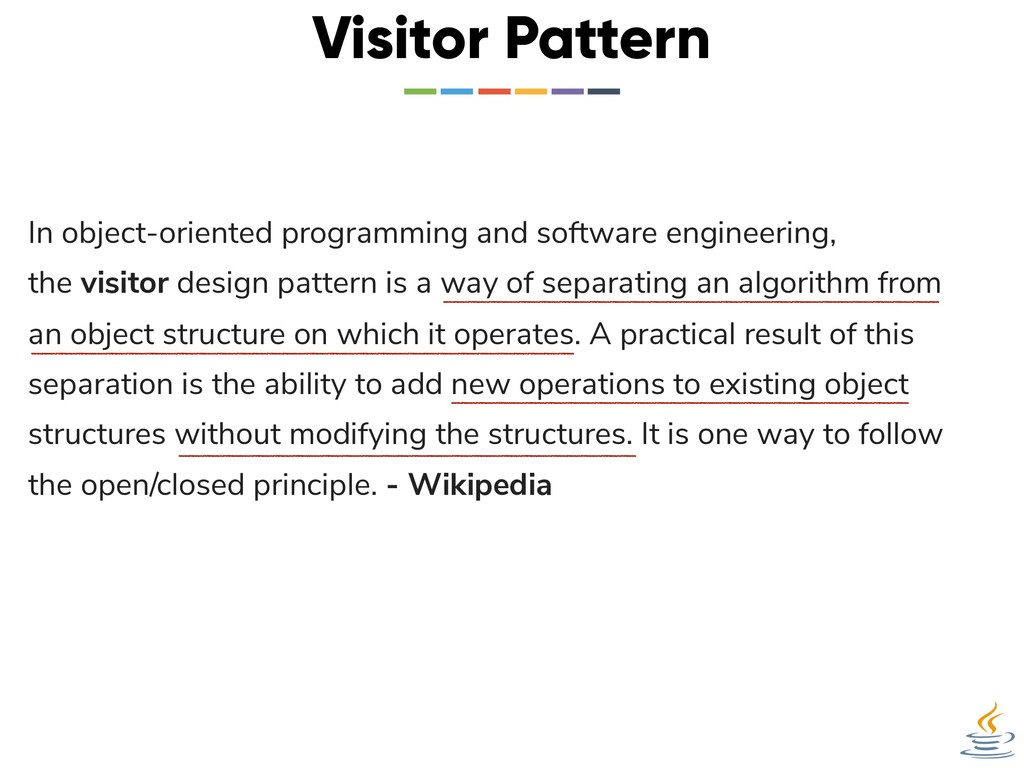 Visitor Pattern In object-oriented programming ...