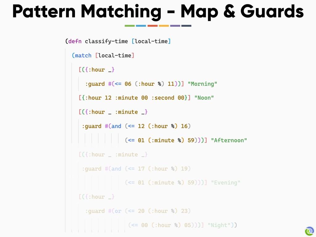 Pattern Matching - Map & Guards