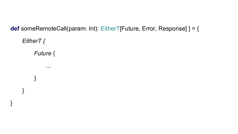def someRemoteCall(param: Int): EitherT[Future,...
