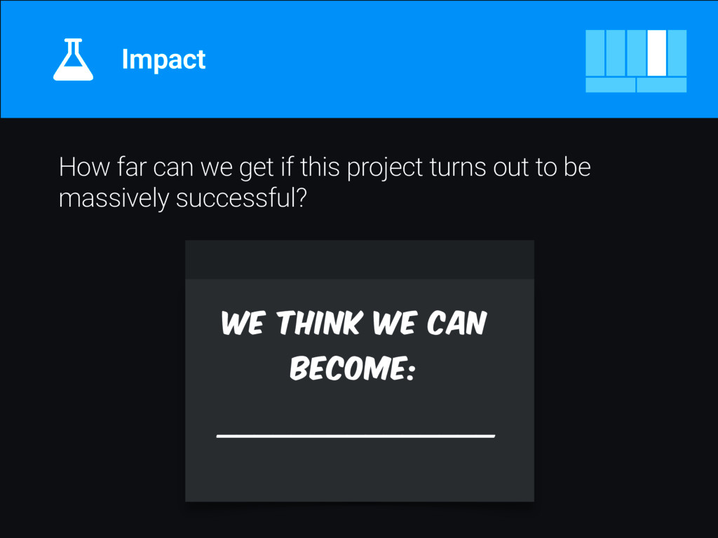 How far can we get if this project turns out to...
