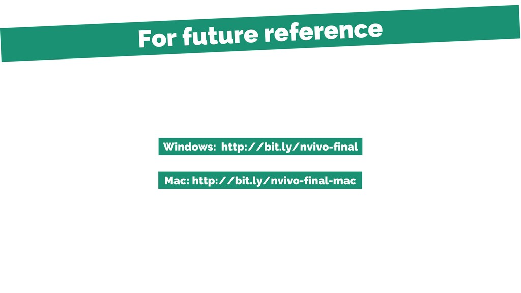 Windows: http://bit.ly/nvivo-final Mac: http://...