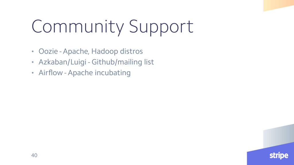 Community Support • Oozie - Apache, Hadoop dist...
