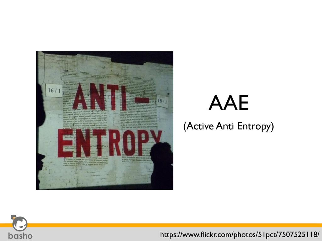 AAE (Active Anti Entropy) https://www.flickr.com...