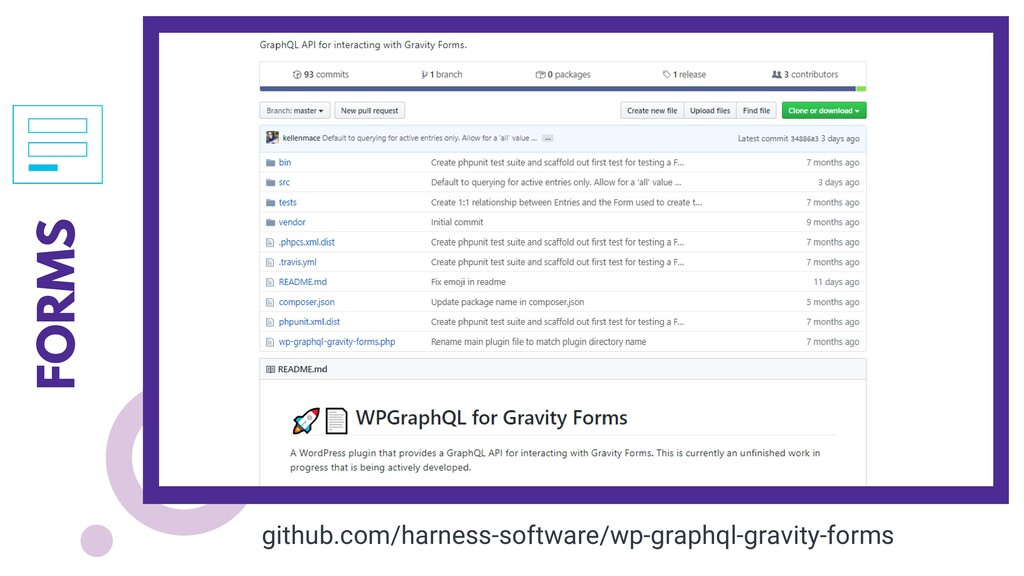 FORMS github.com/harness-software/wp-graphql-gr...
