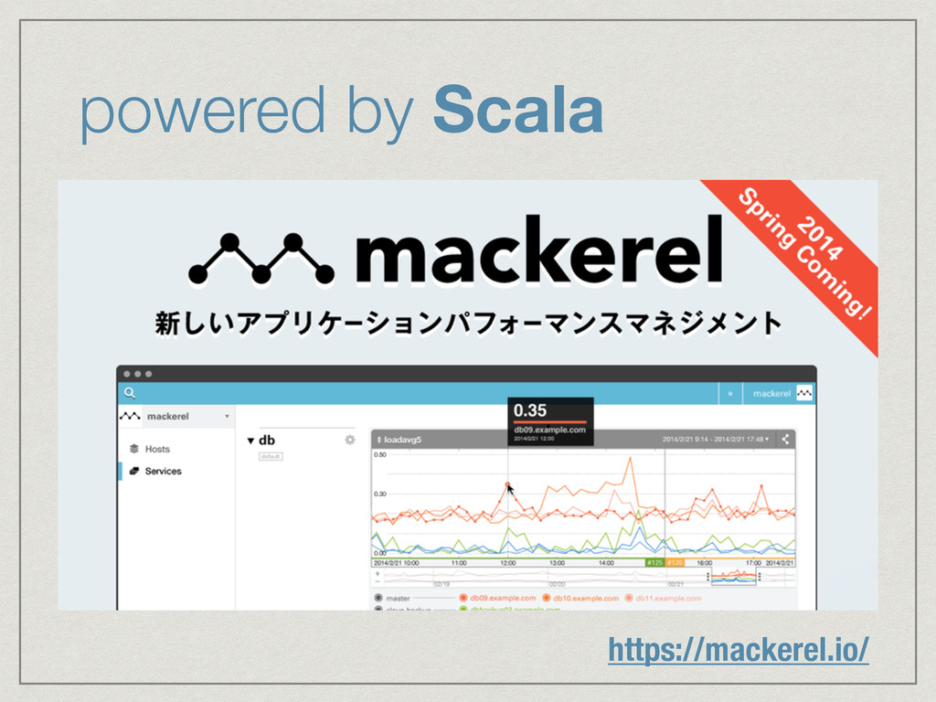 powered by Scala https://mackerel.io/