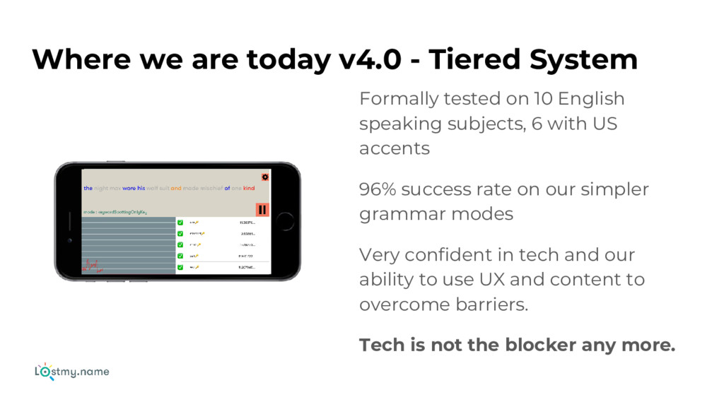 Where we are today v4.0 - Tiered System Formall...