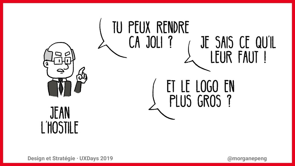 Design et Stratégie · UXDays 2019 @morganepeng