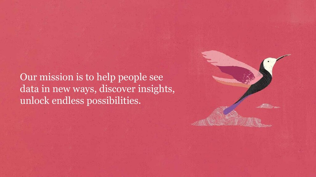 Our mission is to help people see data in new w...