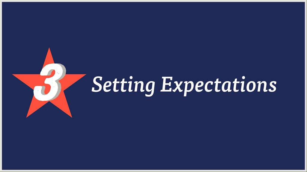 3 3 Setting Expectations