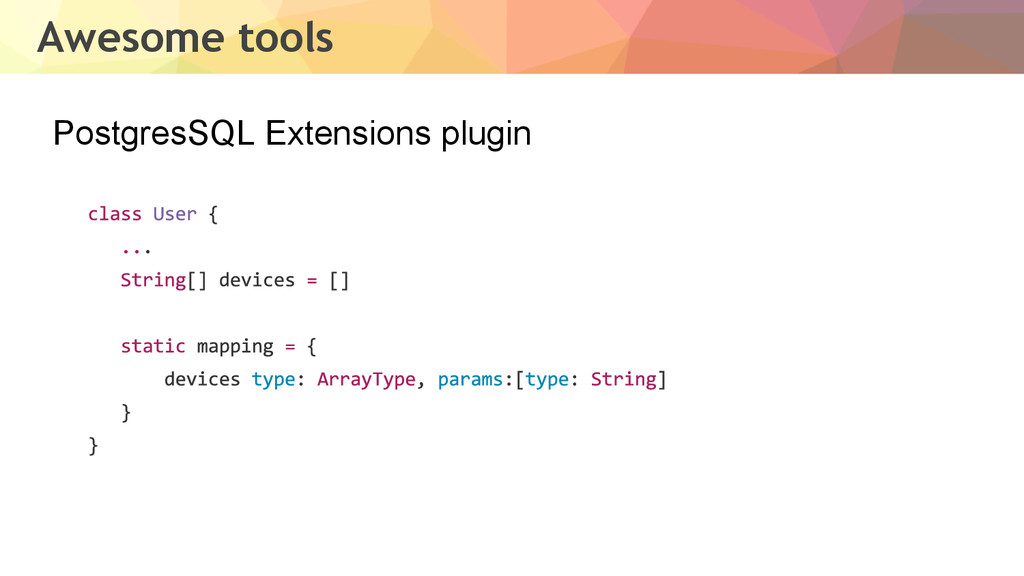 PostgresSQL Extensions plugin Awesome tools