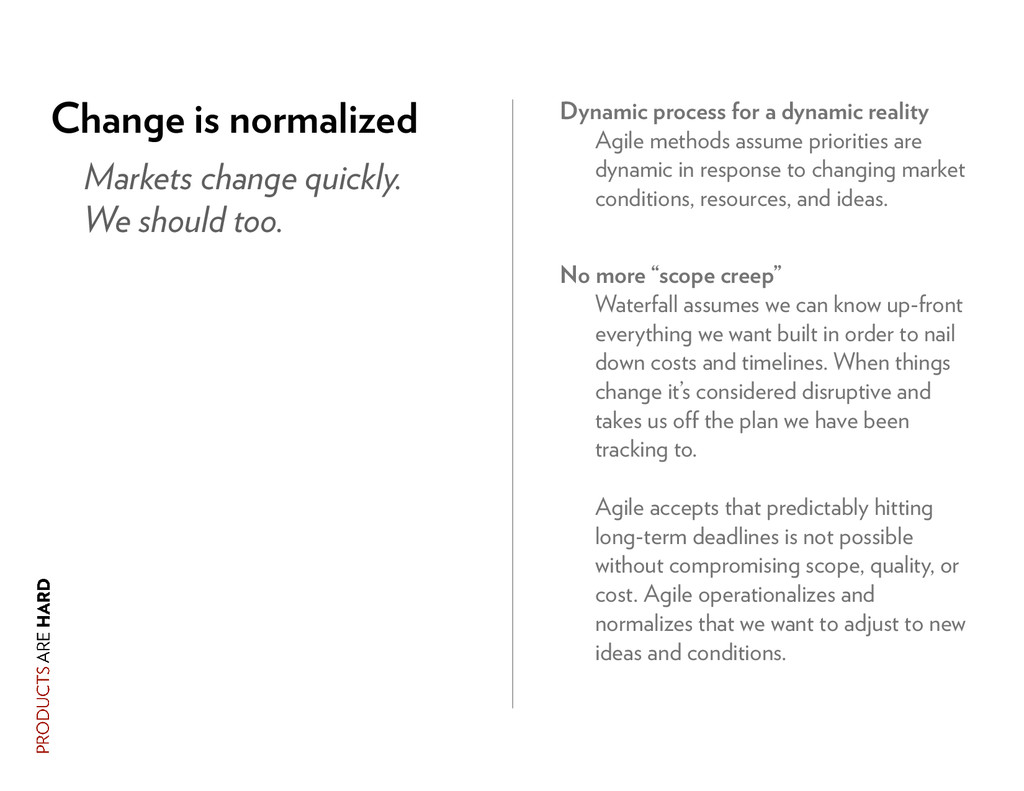 Change is normalized Dynamic process for a dyna...