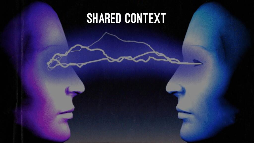 SHARED CONTEXT