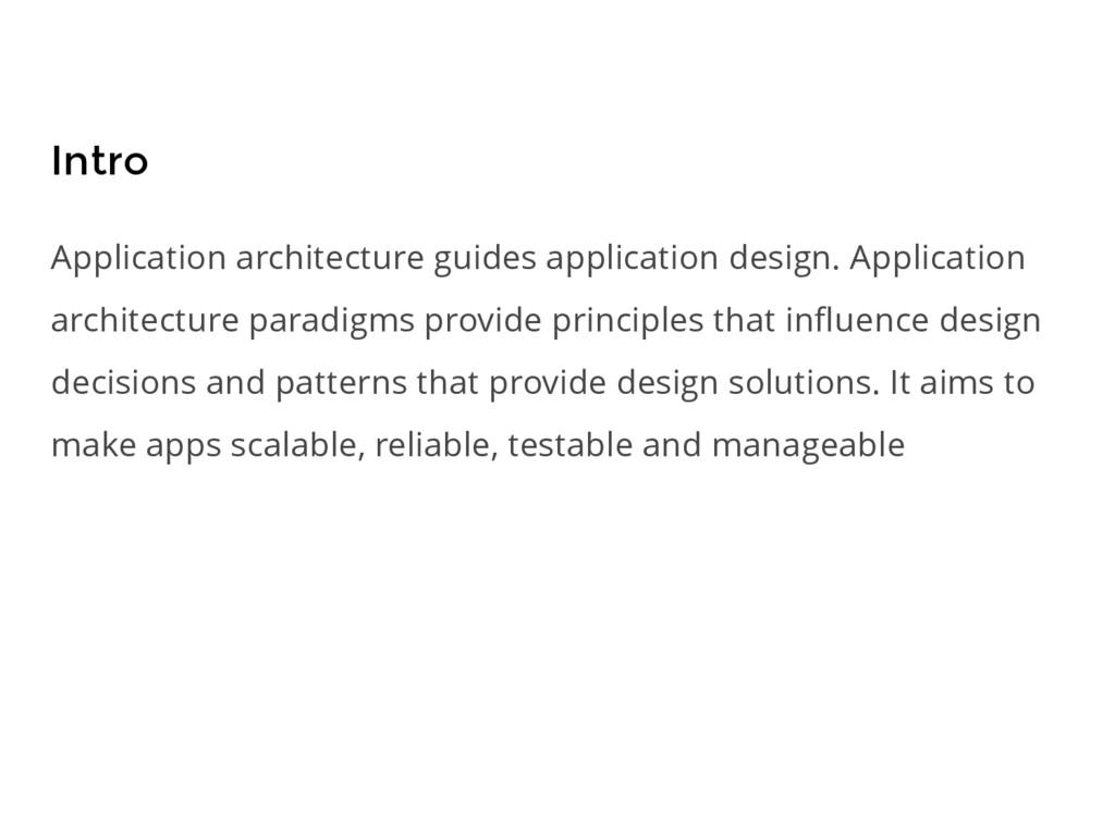 Intro Application architecture guides applicati...