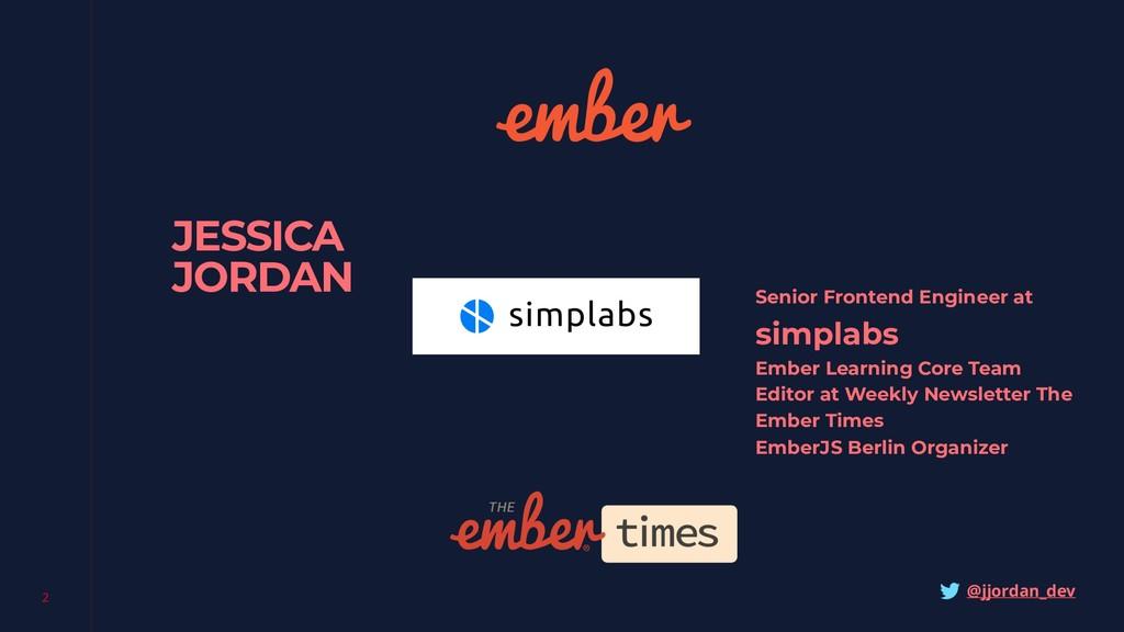 2 JESSICA JORDAN simplabs Ember Learning Core T...