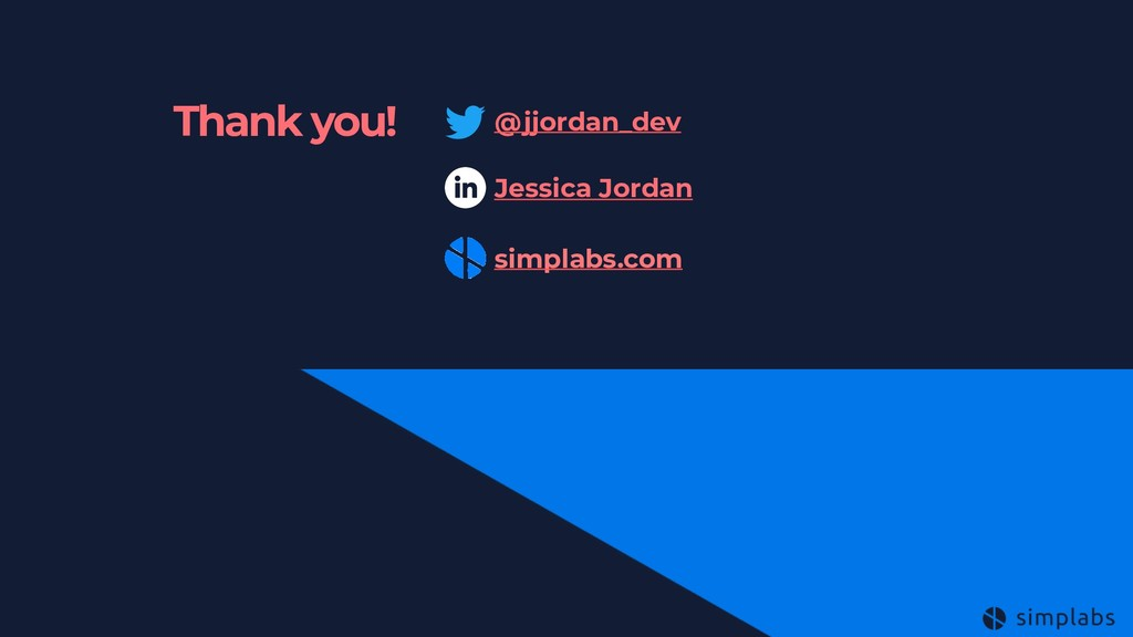 Thank you! @jjordan_dev Jessica Jordan simplabs...